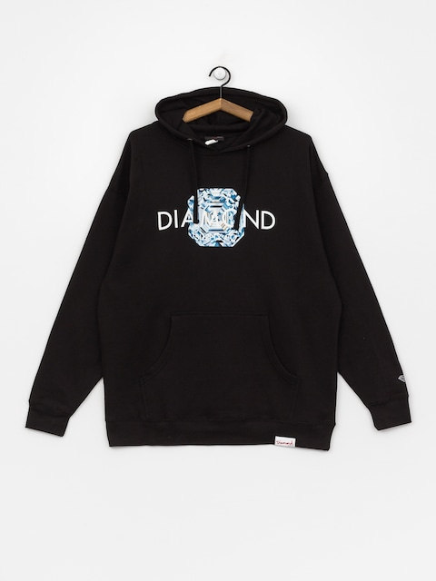 Diamond Supply Co. Asscher Cut HD Hoodie (black)