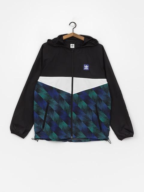 adidas Towning Jacket (black/white/actblu/a)