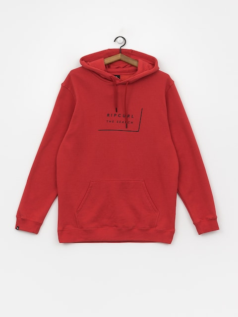 Rip Curl Daily Fleece HD Hoodie (red)