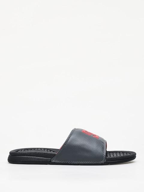 DC Bolsa Flip-flops (black/grey/red)