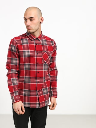 Volcom Caden Plaid Ls Shirt (bur)