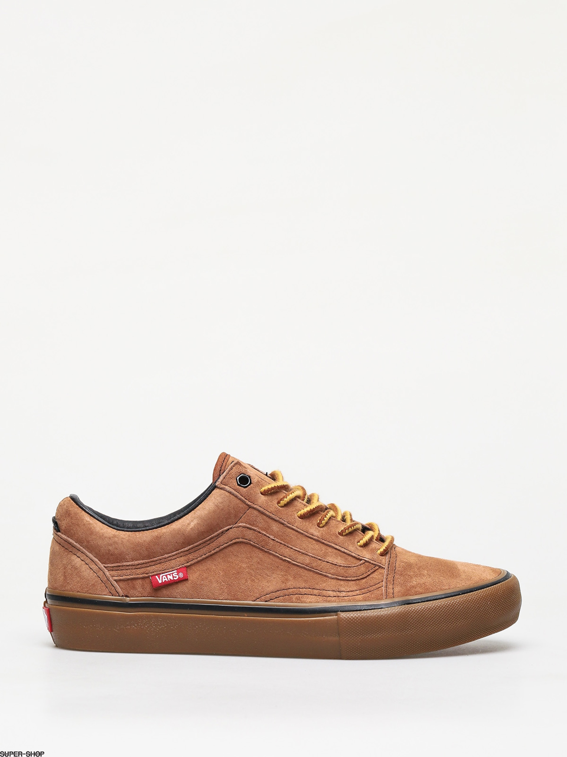 Vans Old Skool Pro Anti Hero Shoes (cardiel/camel)