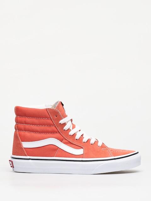 Vans Sk8 Hi Shoes (emberglow/true white)