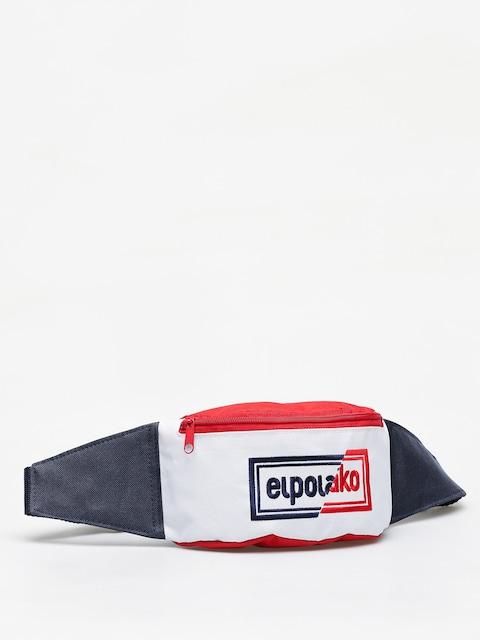 El Polako Cut Colors Bum bag (red/white/navy)