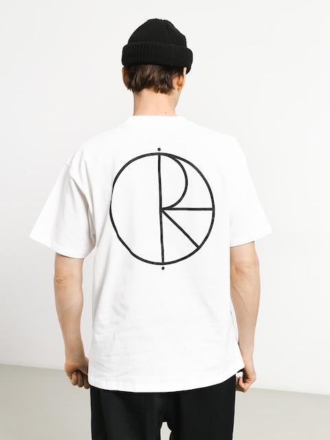 Polar Skate Stroke Logo T-shirt (white/black)