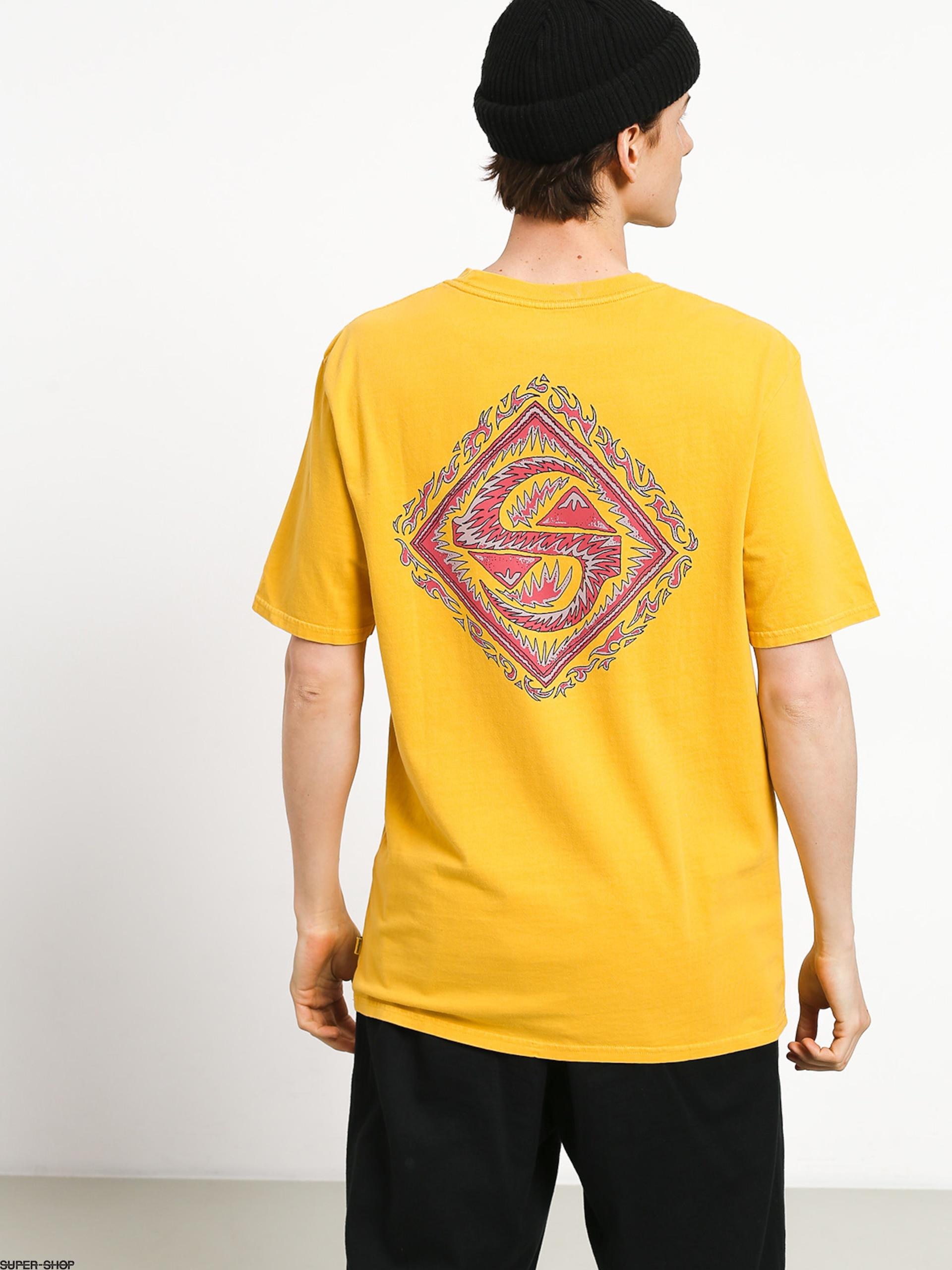 Quiksilver Quik Tribe T-shirt (amber yellow)