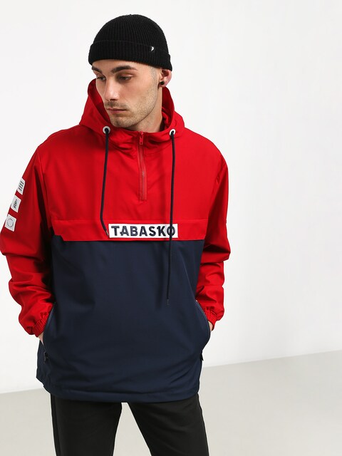 Tabasko Logo Jacket (red/navy)