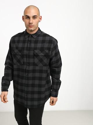 Burton Brighton Flnl Shirt (true black htr buff)