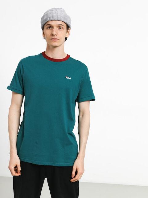 Fila Salus T-shirt (shaded spruce/bright white)