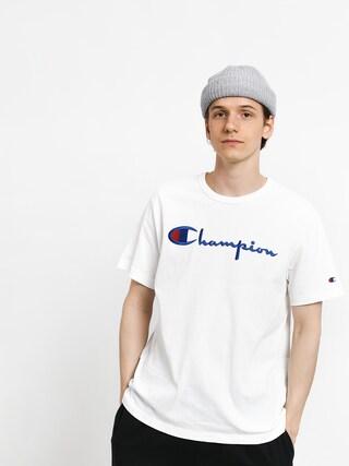 Champion Premium Reverse Weave Big Logo T-shirt (wht)