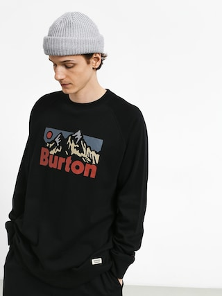 Burton Vista Crew Sweatshirt (true black)