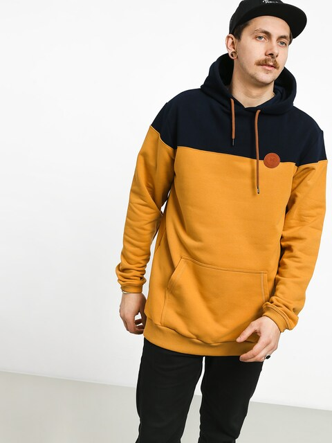 Malita M Circle HD Hoodie (navy/honey)
