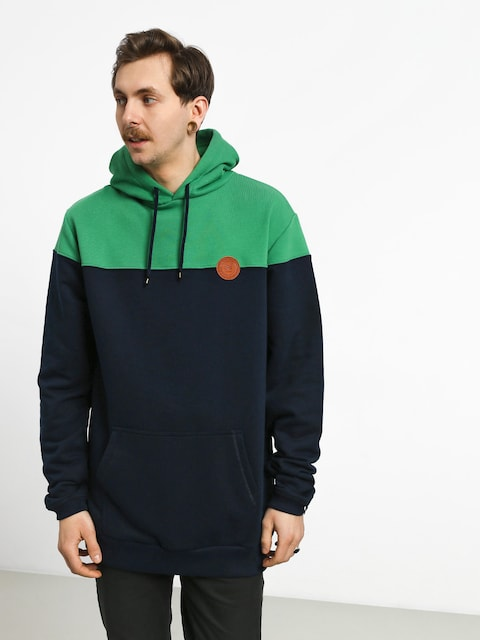Malita M Circle HD Hoodie (green/blue)