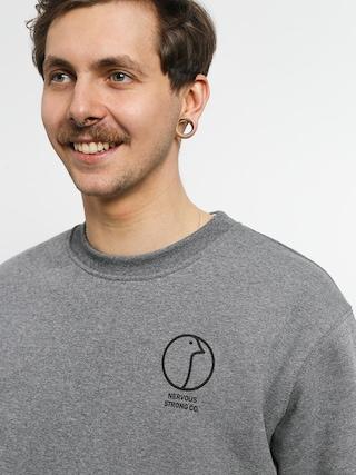 Nervous Profile Sweatshirt (grey)