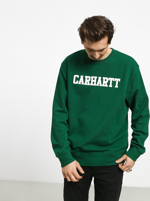 Carhartt WIP College Sweatshirt (dragon/white)