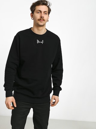 Stoprocent Small Tag Sweatshirt (black)