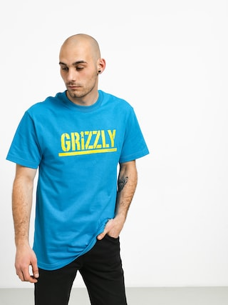 Grizzly Griptape Stamped T-shirt (teal)