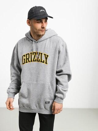 Grizzly Griptape University HD Hoodie (grey heather)