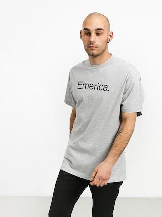 Emerica Pure Logo T-shirt (grey/heather)