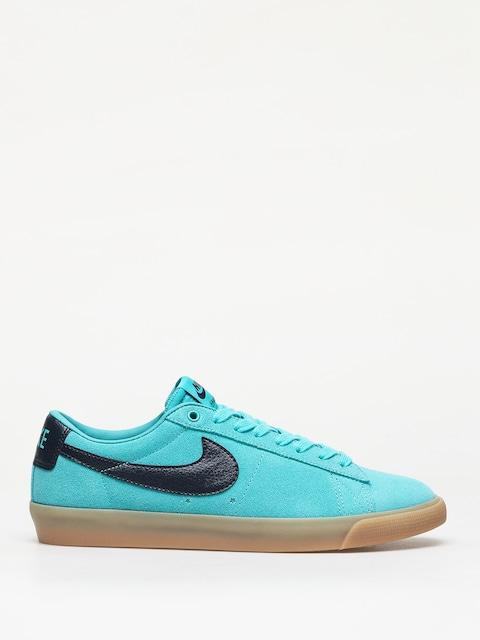 Nike SB Blazer Low Gt Shoes (cabana/obsidian)