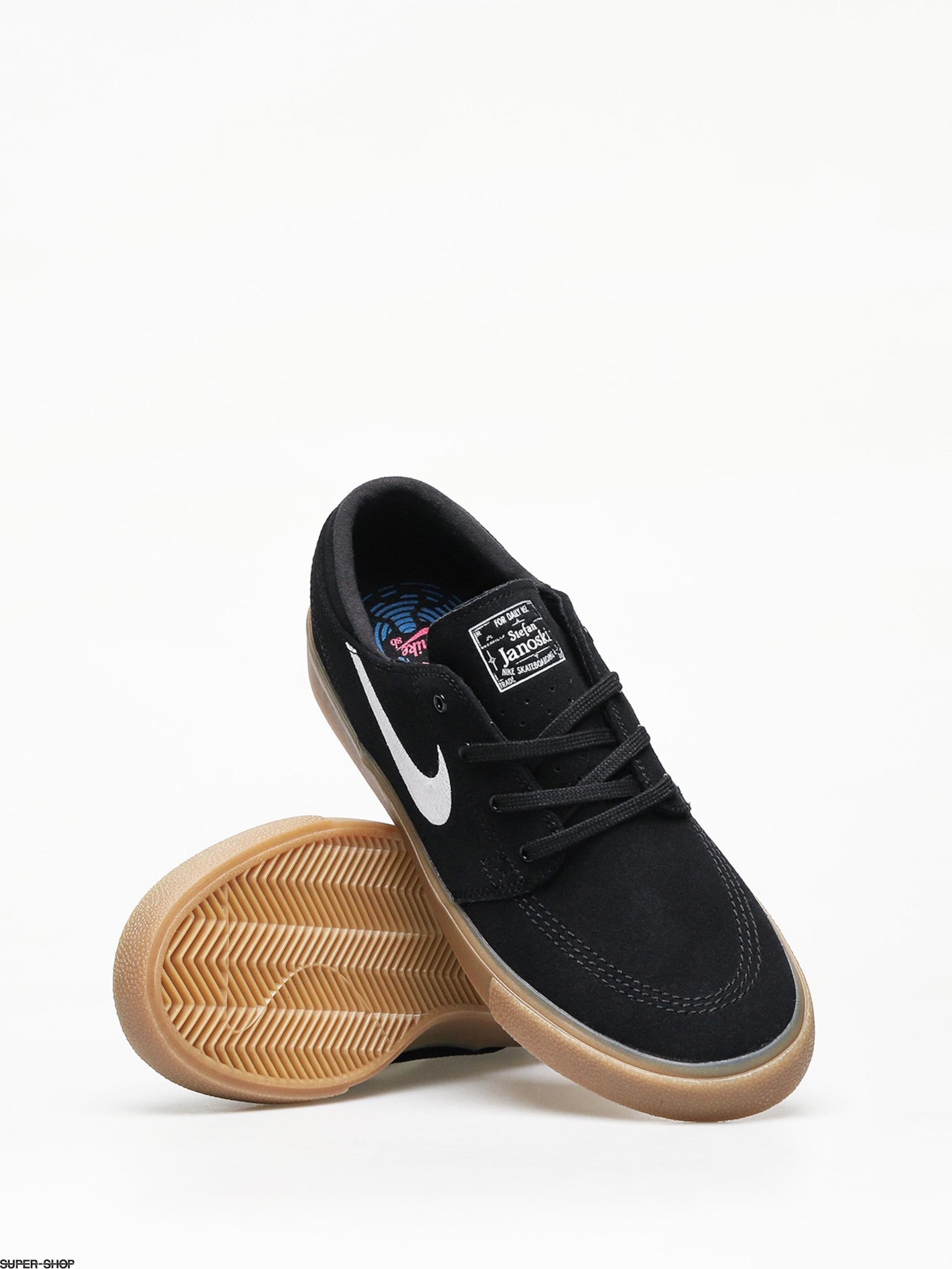 Misionero contar hasta Hobart  Nike SB Zoom Janoski Rm Shoes (black/white black gum light brown)