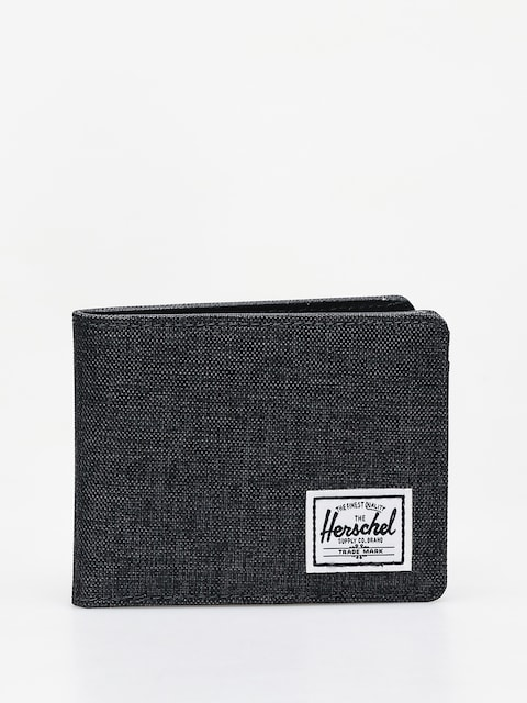 Herschel Supply Co. Hank Rfid Wallet (black crosshatch/black)