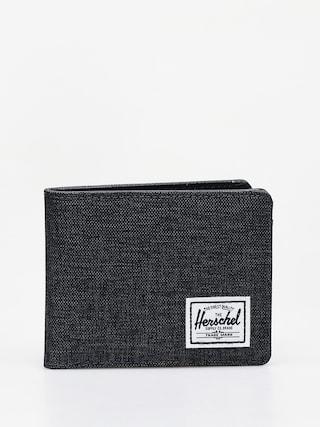 Herschel Supply Co. Hank Rfid Wallet (black crosshatch/black)