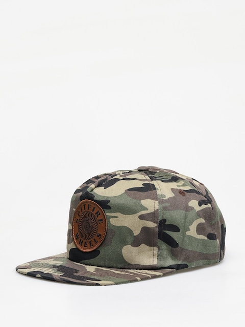 Spitfire Adj Or Swrl Patch ZD Cap (camo)
