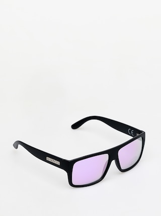 MassDnm Icon Sunglasses (matte black/purple)