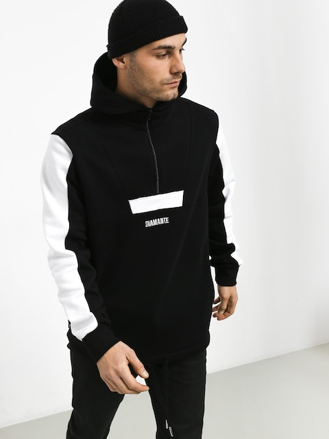Diamante Wear Basic 2 Colors HD Hoodie (black/white)