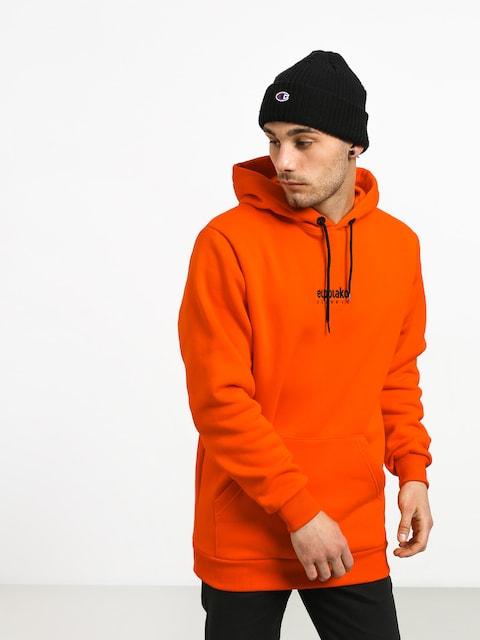 El Polako Mini Logo HD Hoodie (orange)