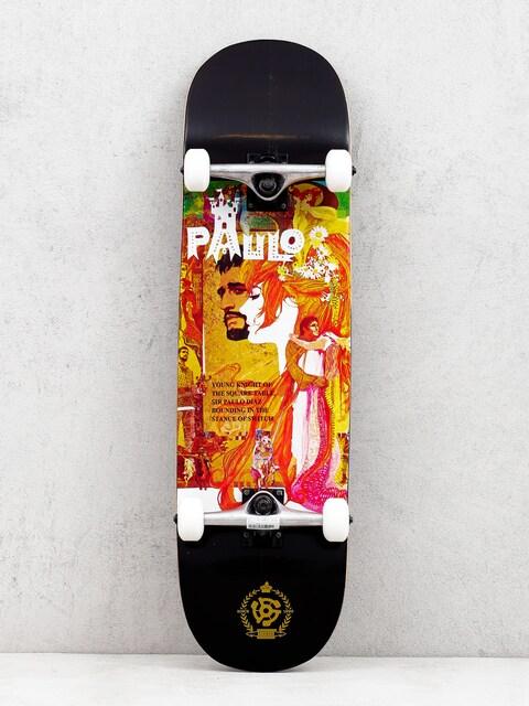 Stereo Paulo Diaz Camelot Skateboard (black/multi)