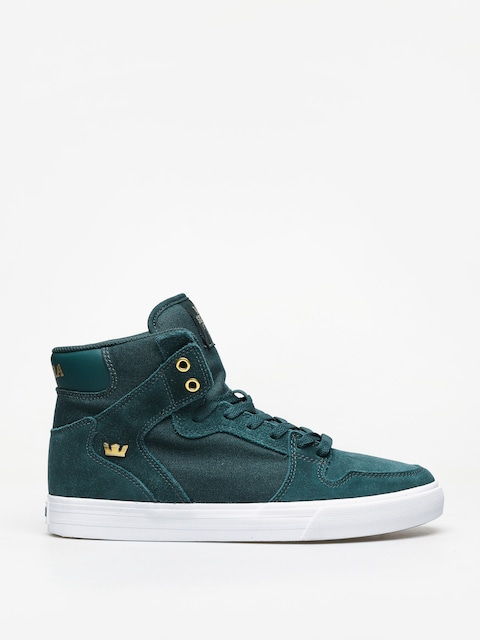 Supra Vaider Shoes (evergreen/gold white)
