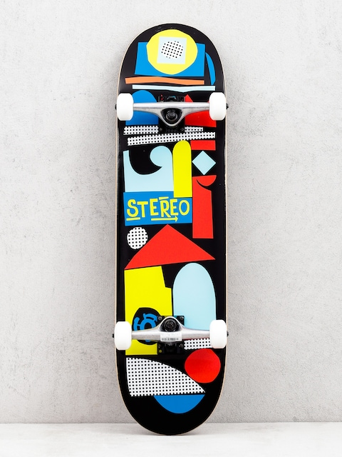 Stereo Team Collage Skateboard