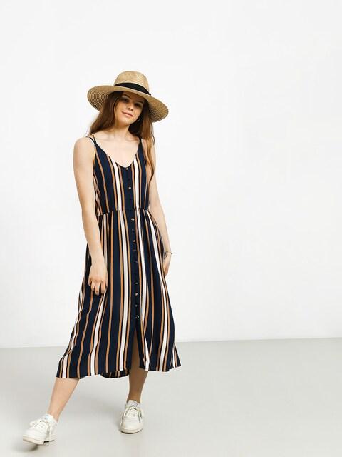 Roxy Sunset Beauty Dress Wmn (dress blue macy stripe)