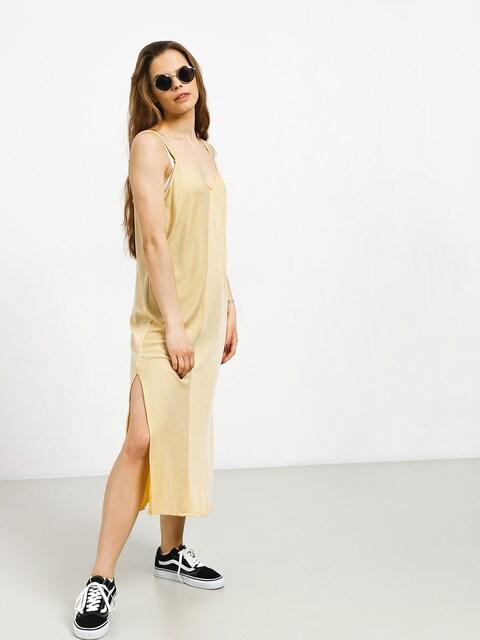 RVCA Layla Dress Wmn (mustard)