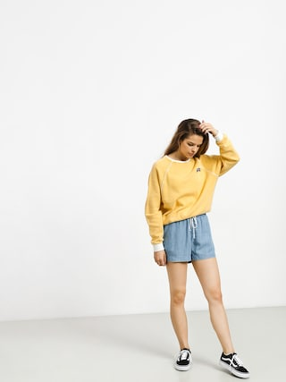 RVCA Hangtown Fleece Sweatshirt Wmn (mustard)