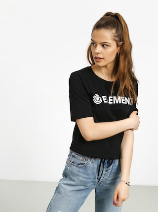 Element Logo T-shirt Wmn (black)