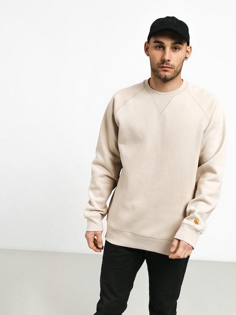Carhartt WIP Chase Sweatshirt (boulder/gold)