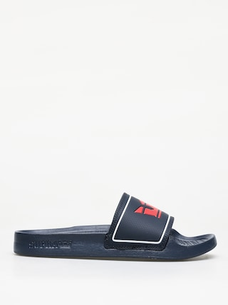 Supra Lockup Flip-flops (navy/red)