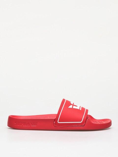 Supra Lockup Flip-flops (risk/red)