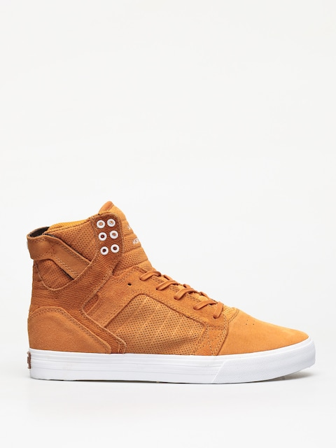 Supra Skytop Shoes (desert white)