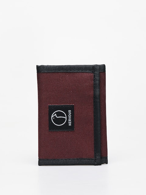 Nervous Profile Wallet (maroon)