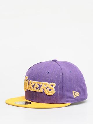 New Era Nba Pincrown ZD Cap (los angeles lakers purple/yellow)