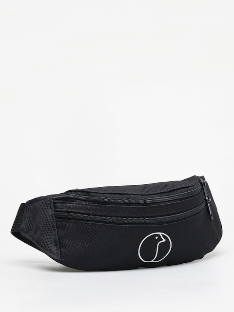 Nervous Profile Bum bag (black)