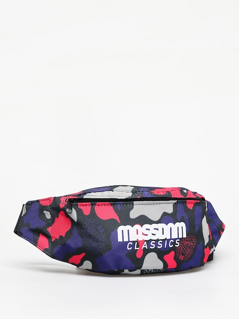 MassDnm Classics Bum bag (purple camo)