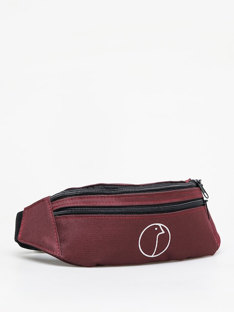 Nervous Profile Bum bag (maroon)
