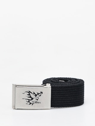 Nervous Flame Belt (black/silver)