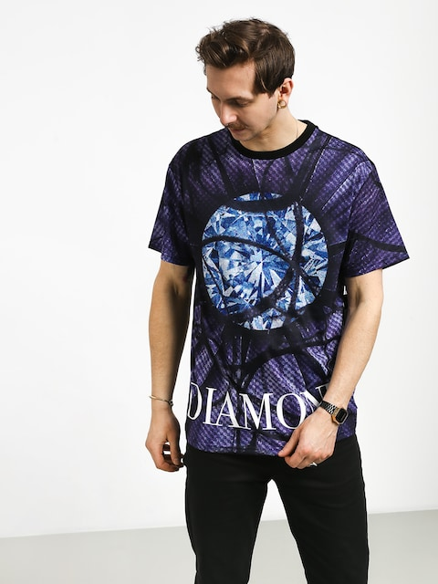 Diamond Supply Co. Distorted Flower T-shirt