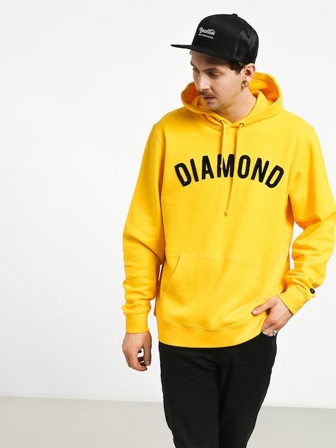 Diamond Supply Co. Diamond Arch HD Hoodie (yellow)